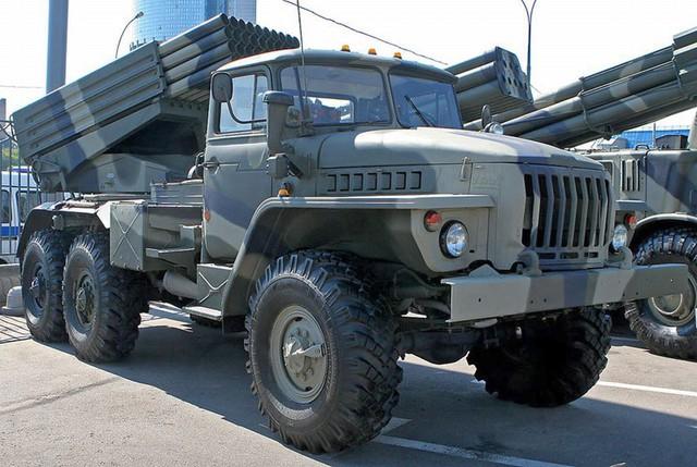 BM-21 Grad của quân Nga