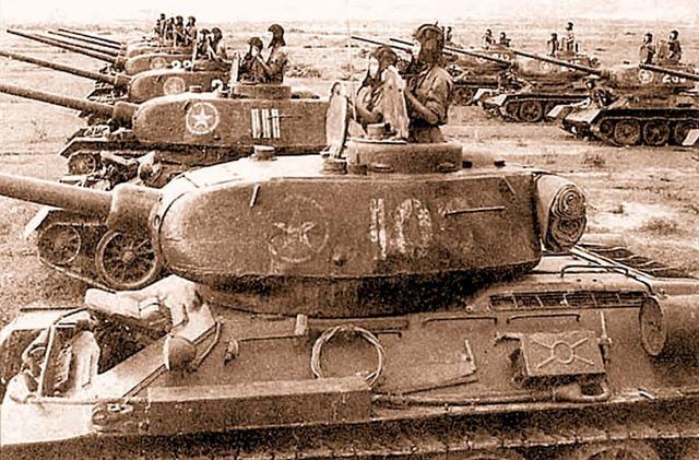 Xe tăng đầu tiên quân đội Việt Nam nhận được là T-34/85