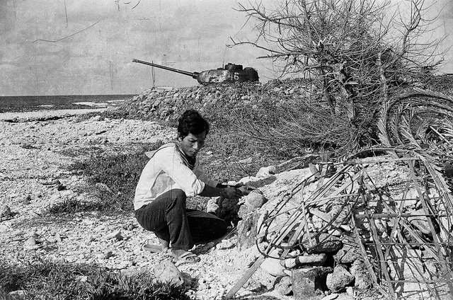 T-34/85 tại đảo Nam Yết