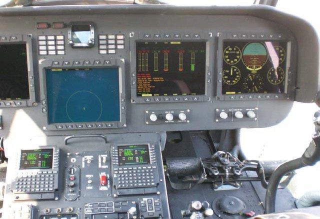 Buồng lái hiện đại của trực thăng Mi-17V-5