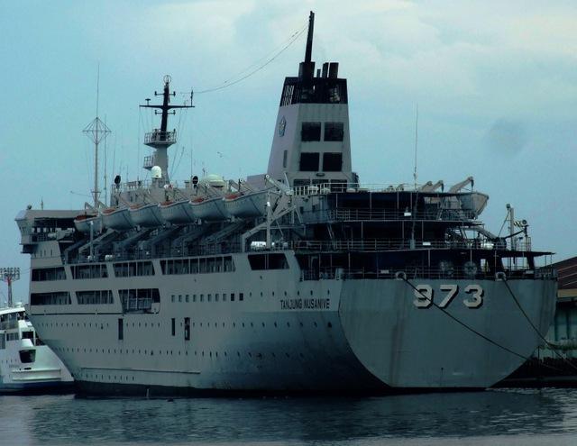 Ngoài ra, Indonesia còn có 2 tàu chở quân cỡ lớn được hoán cải từ tàu chở khách là tàu KRI Tanjung Fatagar (số hiệu 974) và tàu KRI Tanjung Nusanive (số hiệu 973)