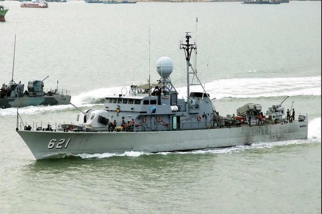 Tàu lớp Mandau có lượng giãn nước 290 tấn, tốc độ tối đa 41 hải lý/giờ. Vũ khí trang bị trên tàu gồm có: 1 pháo 57mm, 1 pháo 40mm, 2 pháo 20mm, 4 tên lửa chống hạm MM38 Exocet