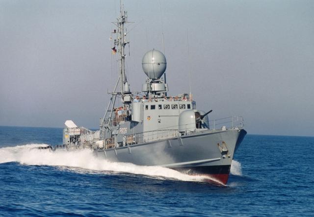Tàu tên lửa tấn công nhanh Type 143A Gepard