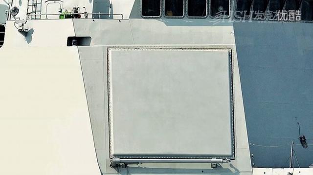 Cận cảnh radar mạng pha mới trên tàu khu trục Type 052D