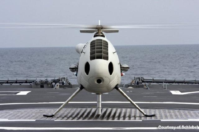 Phát biểu bên lề triển lãm hàng không Singapore 2014, ông Andrew Byrne, Giám đốc kinh doanh của Schiebel (Áo) tại khu vực châu Á-Thái Binh Dương cho biết công ty này đang đàm phán với Hải quân Việt Nam về việc cung cấp các máy bay trực thăng không người lái Camcopter S-100.