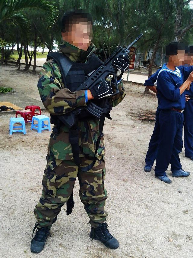 Áo chống đạn của hải quân đánh bộ