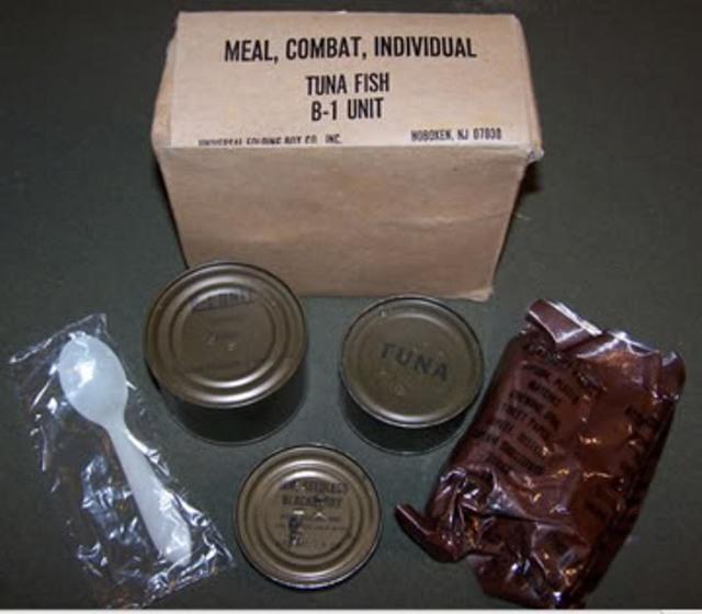 Khẩu phần ăn B1 của lính Mỹ
