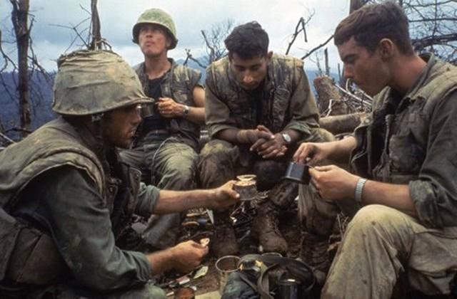 Bữa ăn tại chiến trường của lính Mỹ trong chiến tranh Việt Nam