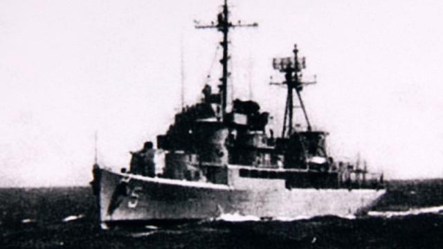 Chiến hạm HQ-5 Trần Bình Trọng, nơi đại tá Hà Văn Ngạc chỉ huy chiến dịch đổ bộ đảo Quang Hòa