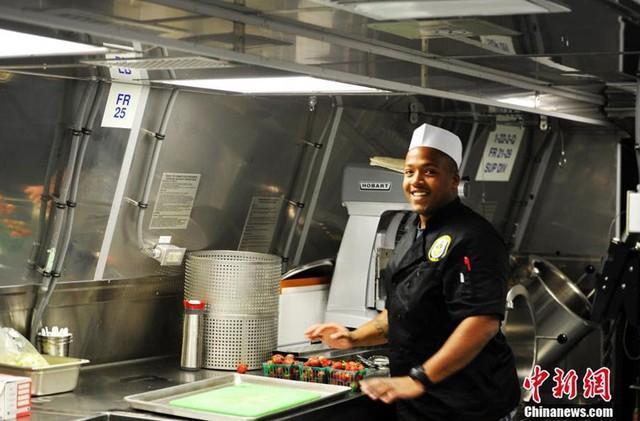 Bếp ăn trên tàu