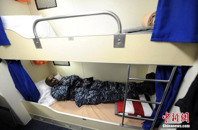 Giường ngủ trên tàu
