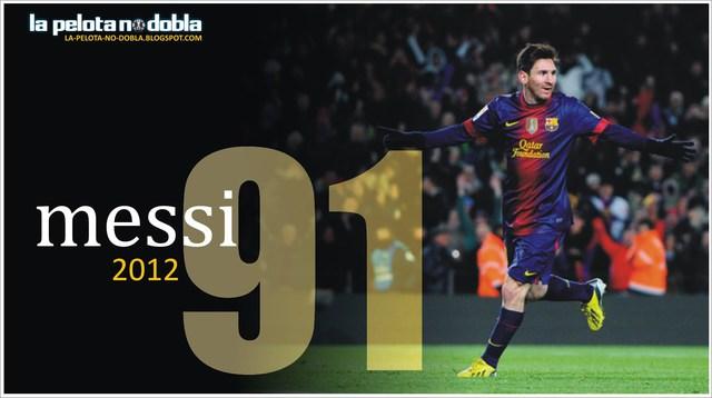 Kỷ lục 91 bàn của Messi khiến anh càng phải chịu áp lực của sự kỳ vọng