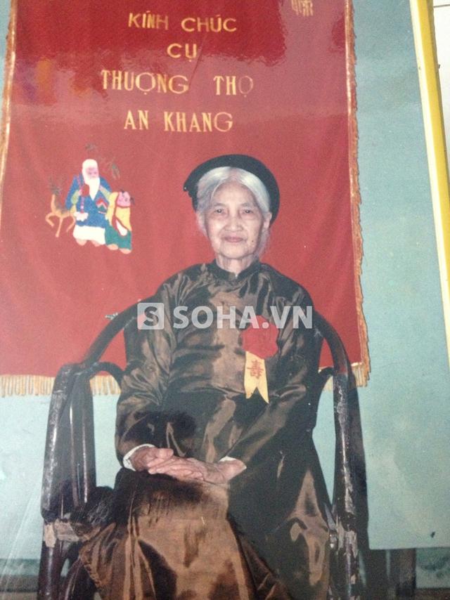 Mẹ vợ của NSND Trịnh Thịnh.
