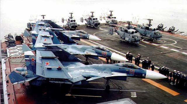 Để cân bằng về lực lượng (xét về số lượng chưa nói đến chất lượng), quân đội Nga cần từ 18-19 tàu sân bay và 2.157 máy bay.