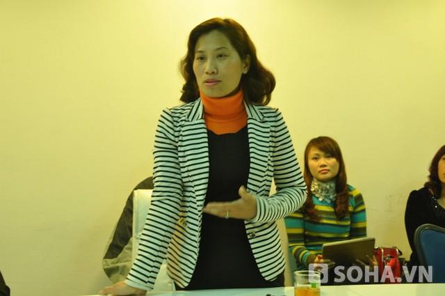 Luật sư Trịnh Cẩm Bình (Ảnh: Tuấn Nam)