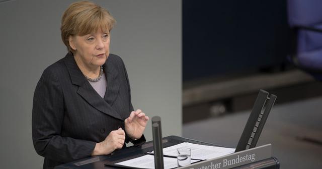 Thủ tướng Đức đã công khai chỉ trích hành động của Nga tại Crimea trong một phiên họp Quốc hội.