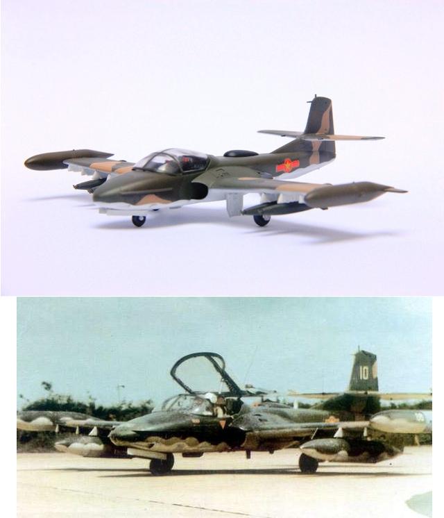 Máy bay A-37, sau 30.4.1975, quân ta thu được khá nhiều của ngụy