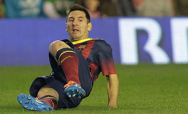 Những gì Messi làm được trong năm 2013 cũng rất đáng nể