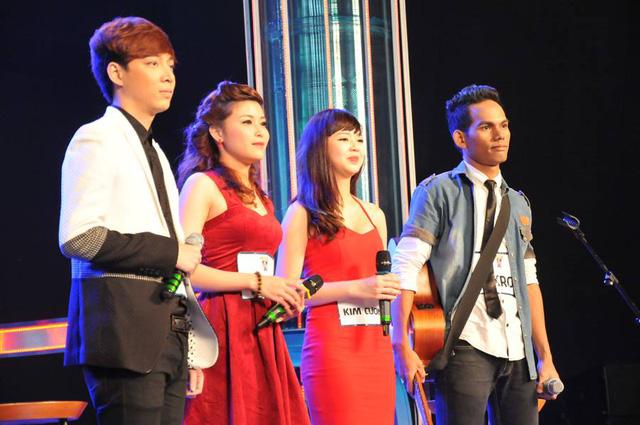 Kim Cương, Ngọc Ánh vượt qua 2 thí sinh nam trong nhóm để giành vé sang Hàn Quốc.