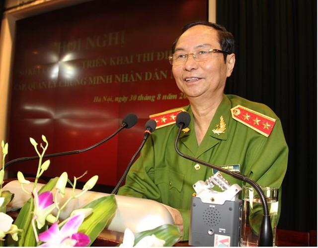 Thượng tướng Phạm Quý Ngọ (Ảnh: CAND)