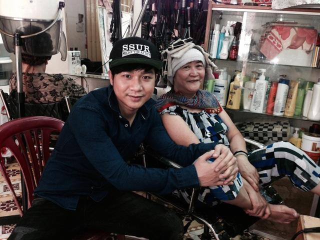 Quách Tuấn Du hy vọng những vướng mắc, lo lắng của mẹ anh trong thời gian qua về đoạn phim nhạy cảm của anh sẽ được tháo gỡ hoàn toàn.