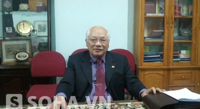 TS. Phạm Sỹ Liêm - Phó Tổng hội Xây dựng Việt Nam, nguyên Thứ trưởng Thường trực Bộ Xây dựng