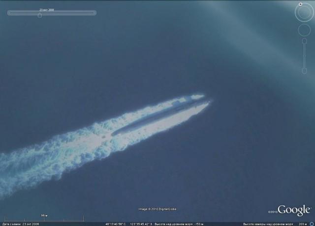 Tàu ngầm hạt nhân Ohio trở về sau hành trình