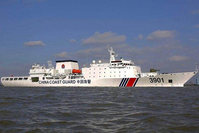 TQ hạ thủy tàu hải cảnh lớn chưa từng có - Ảnh 2.