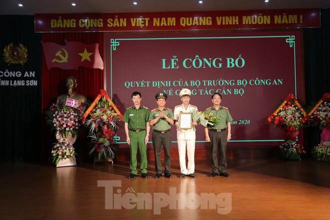 Đại tá Nguyễn Minh Tuấn làm Phó Giám đốc công an tỉnh Lạng Sơn - Ảnh 1.