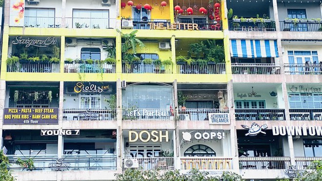 Chung cư đầy ắp nhà hàng, quán cà phê gây chú ý trên mạng xã hội quốc tế - Ảnh 7.