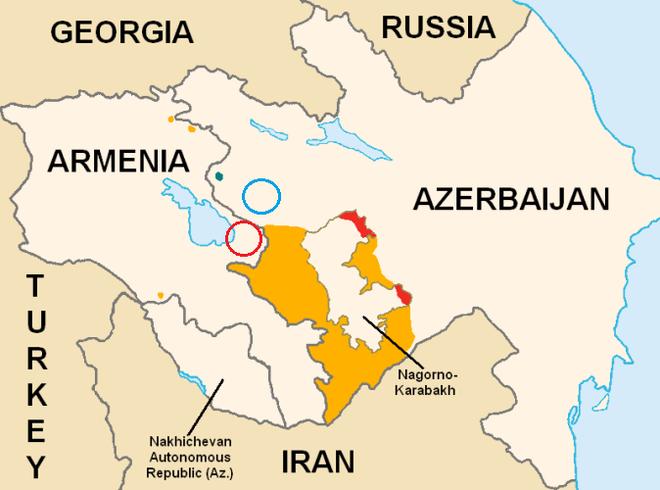 Bất chấp nỗ lực dàn xếp đàm phán Armenia và Azerbaijan của Nga, súng vẫn tiếp tục nổ! - Ảnh 1.