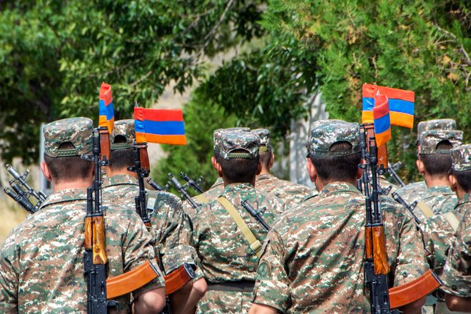 QĐ Azerbaijan hủy diệt cơ giới đối phương, tố vi phạm ngừng bắn - Chiến sự Nagorno-Karabakh nóng rực! - Ảnh 1.