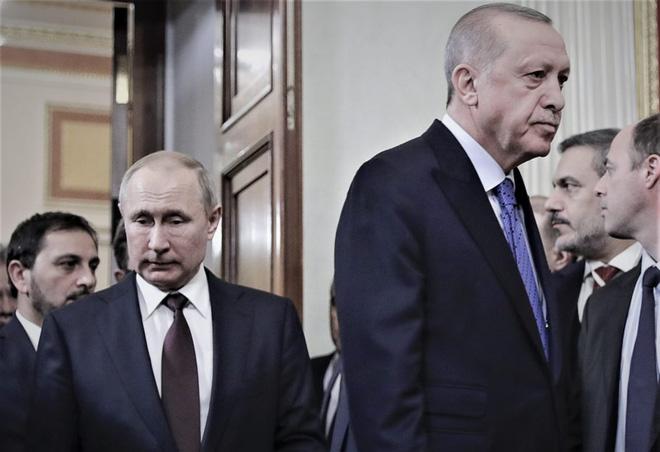 Cuộc đua song mã của Nga-Thổ trong xung độtArmenia-Azerbaijan - Ảnh 1.