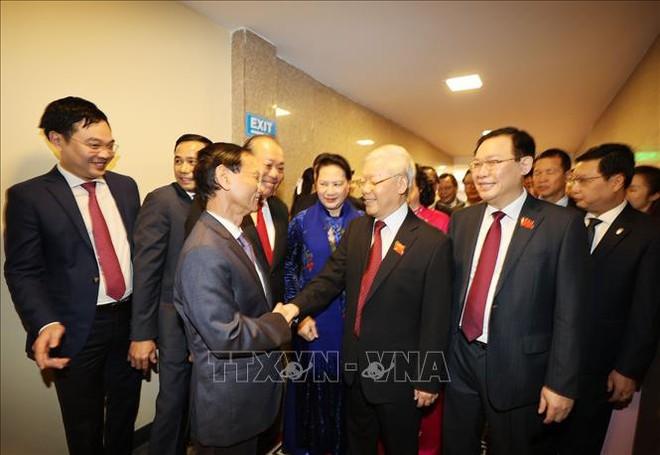 Tổng Bí thư, Chủ tịch nước Nguyễn Phú Trọng dự Đại hội đại biểu Đảng bộ thành phố Hà Nội - Ảnh 2.