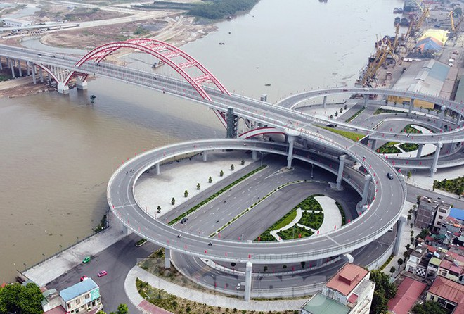 Cận cảnh cây cầu Cánh chim biển của thành phố Hải Phòng - Ảnh 1.
