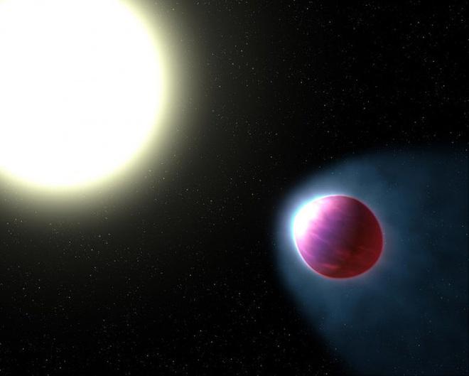 Hành tinh lạ nơi sắt và 6 thứ kim loại khác... bay trong không khí - Ảnh 1.