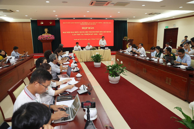 Ban Chấp hành Đảng bộ TP HCM nhiệm kỳ 2020-2025 sẽ gồm 61 người - Ảnh 1.