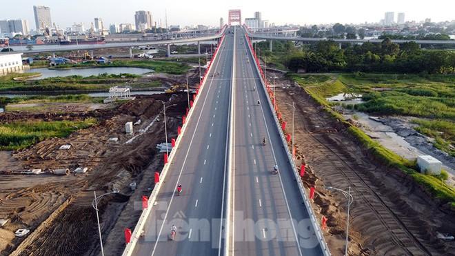 Cận cảnh cây cầu Cánh chim biển của thành phố Hải Phòng - Ảnh 11.