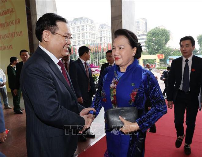 Tổng Bí thư, Chủ tịch nước Nguyễn Phú Trọng dự Đại hội đại biểu Đảng bộ thành phố Hà Nội - Ảnh 3.