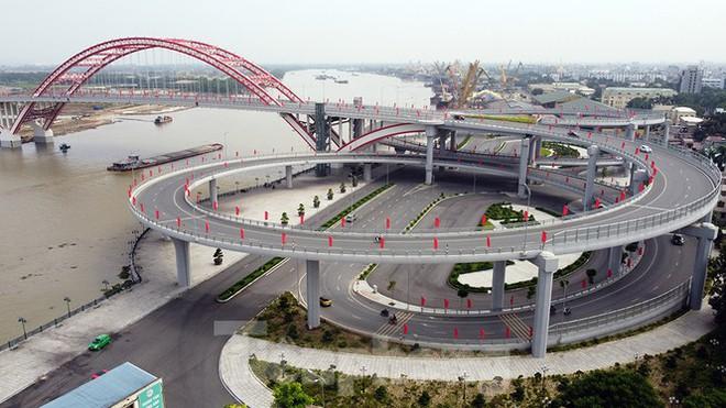 Cận cảnh cây cầu Cánh chim biển của thành phố Hải Phòng - Ảnh 3.