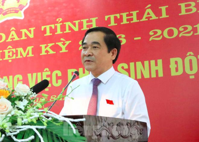 Ông Ngô Đông Hải được giới thiệu tái cử Bí thư Tỉnh ủy Thái Bình - Ảnh 4.