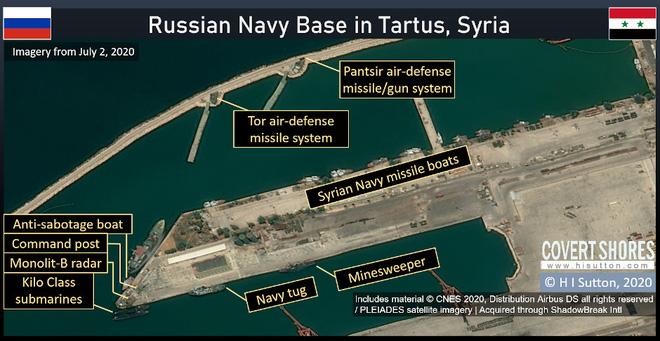 Ma trận phòng thủ bảo vệ căn cứ hải quân Nga ở Syria: Có một lực lượng rất đặc biệt - Ảnh 1.