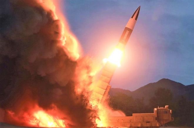 """Cơn """"địa chấn"""" mang tên """"ICBM Triều Tiên"""" trên các phương tiện truyền thông  - Ảnh 1."""