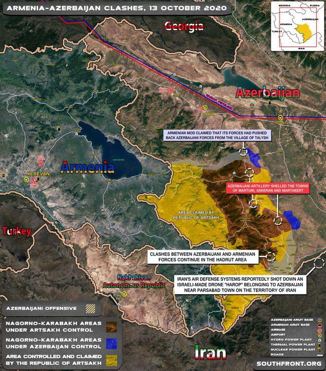 QĐ Azerbaijan tấn công lớn trên mọi hướng, chiến sự Azerbaijan-Armenia cực nóng: Rất bất ngờ - Ảnh 1.