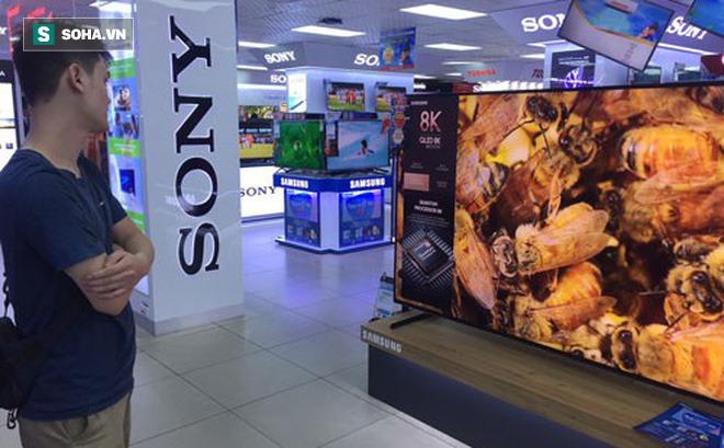 Hàng loạt mẫu TV 8K của Samsung, LG, Sony giảm tới gần 50% nhưng vẫn ế