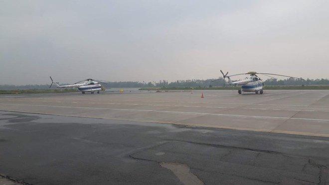 Trực thăng xuất hiện ở khu vực thuỷ điện Rào Trăng 3, quân đội tiếp tục vào hiện trường - Ảnh 1.