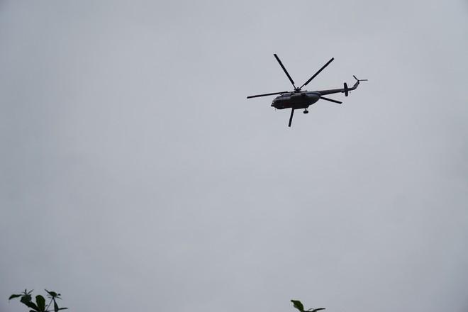 Trực thăng xuất hiện ở khu vực thuỷ điện Rào Trăng 3, quân đội tiếp tục vào hiện trường - Ảnh 5.