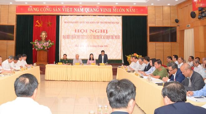Tổng Bí thư, Chủ tịch nước Nguyễn Phú Trọng: Cán bộ lãnh đạo Hà Nội phải có bản lĩnh, trí tuệ, đoàn kết - Ảnh 2.