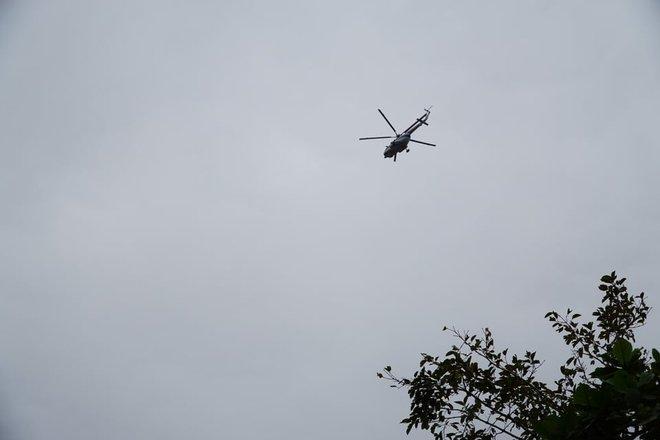 Không còn dấu vết của Trạm bảo vệ rừng 67 - nơi đoàn cứu hộ dừng chân Photo-1-1602644057418605815869