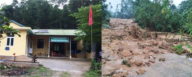 Không còn dấu vết của Trạm bảo vệ rừng 67 - nơi đoàn cứu hộ dừng chân Photo-1-1602644439119868394378